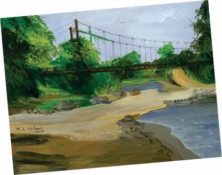 Old Bridge Note Card 2