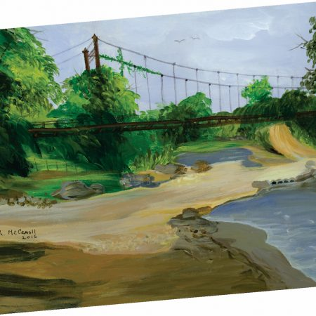 Old Bridge Note Card 2
